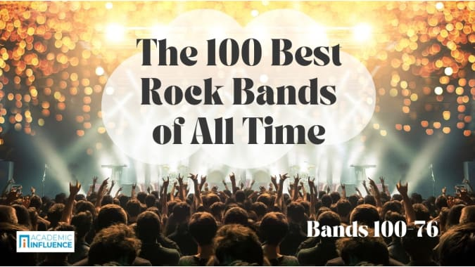 The 100 Best Rock Bands of All Time: 100–76