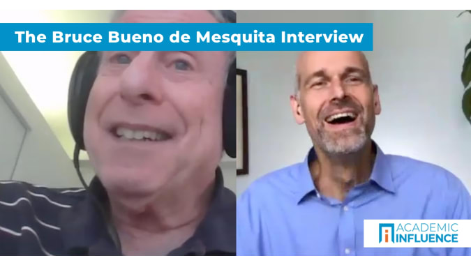 How game theory and competition explain politics   Interview with Dr. Bruce Bueno de Mesquita
