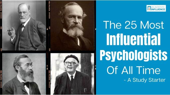 most-influential-psychologist-study-starter