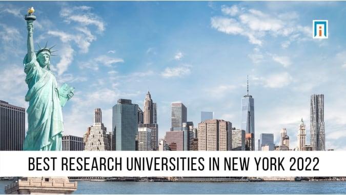 New York's Best Research Universities of 2021