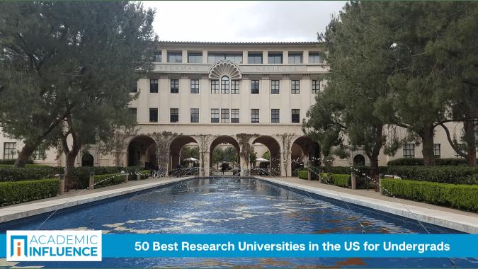 50 Best Research Universities forUndergrads of 2021