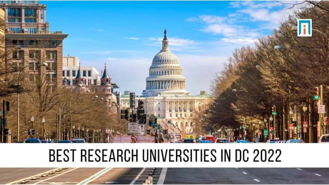 DC's Best Research Universities of 2021