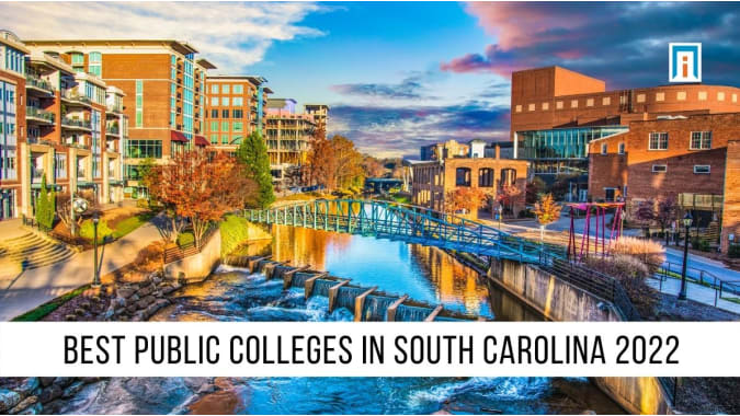 South Carolina's  Best Public Colleges & Universities of 2021