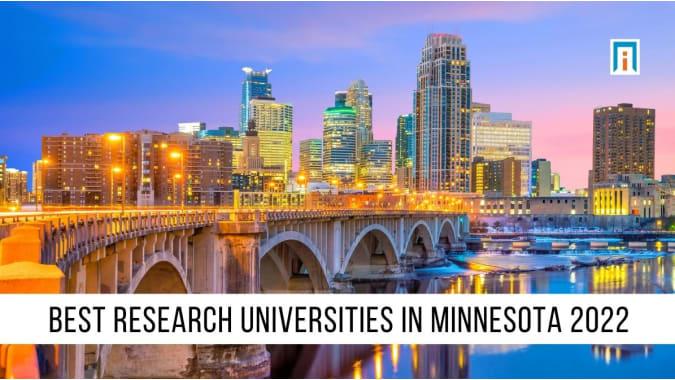 Minnesota's Best Research Universities of 2021