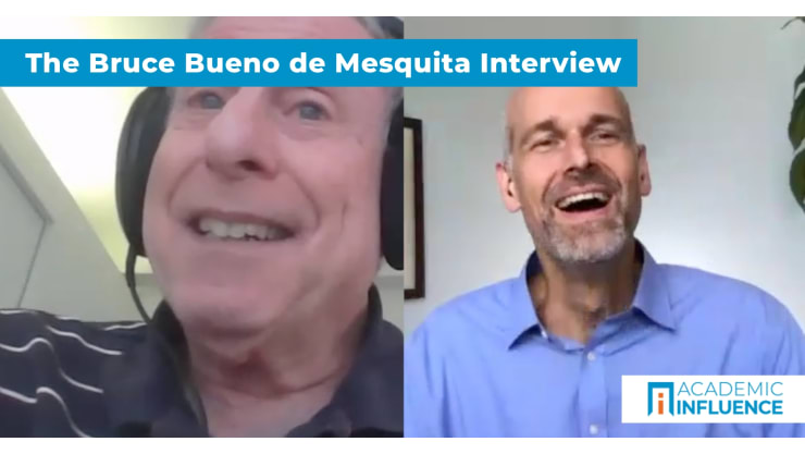 How game theory and competition explain politics | Interview with Dr.Bruce Bueno de Mesquita