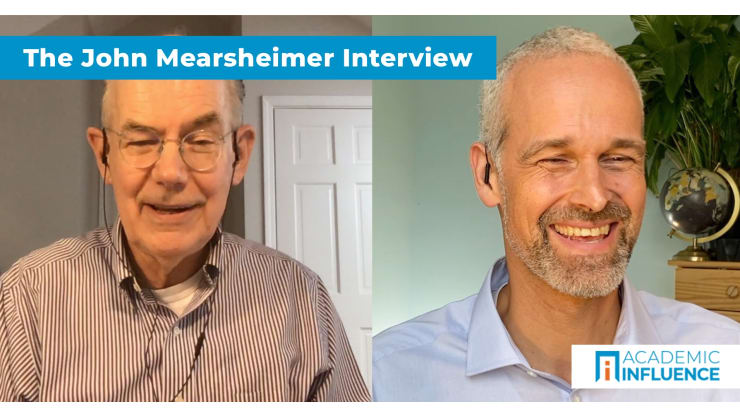 Truth, Lies, Nationalism, War, and Election Meddling | Interview with Dr. John Mearsheimer