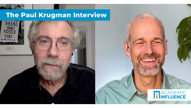 How monopolies, geopgraphy, and currency crises affect economies   Interview with Dr. Paul Krugman