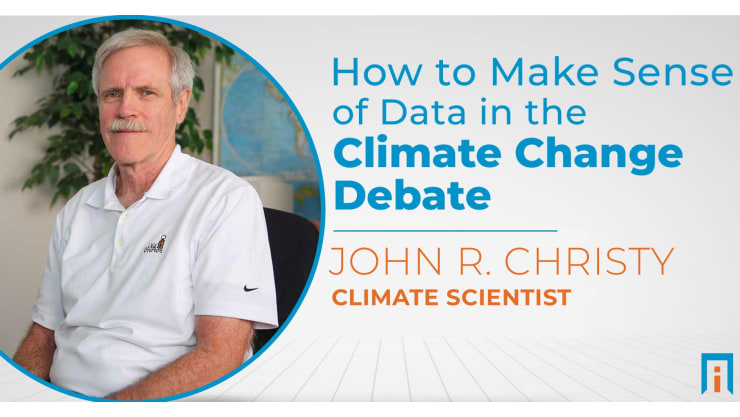 How to make sense of data in the climate change debate   Interview with Dr. John Christy