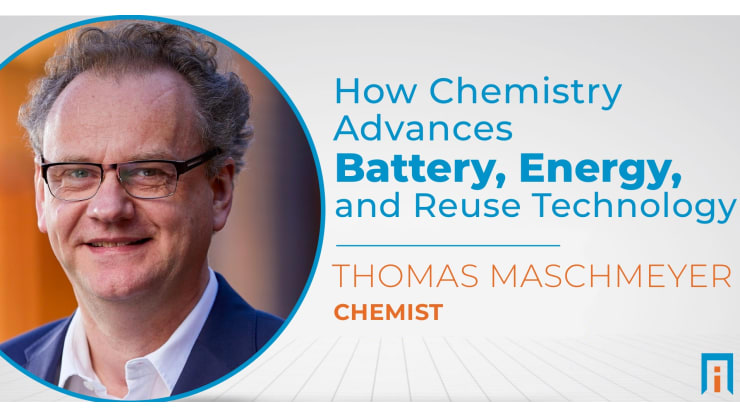 How chemistry advances battery, energy, and reuse technology | Interview with Dr. Thomas Maschmeyer