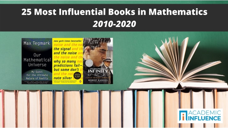 25 Most Influential Books in Mathematics 2010–2020