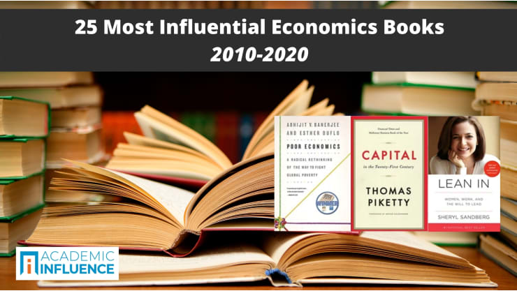 25 Most Influential Economics Books 2010–2020