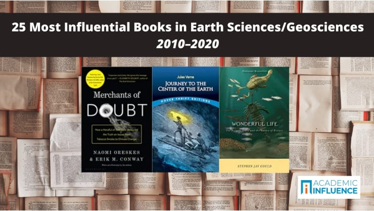 25 Most Influential Books in Earth Sciences/Geosciences 2010–2020