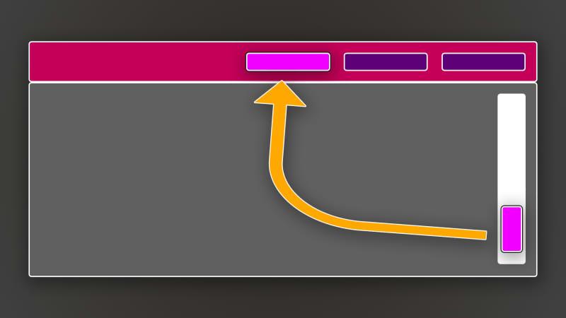 Adding Scroll-aware Navigation