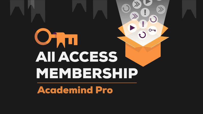 Academind Pro Membership