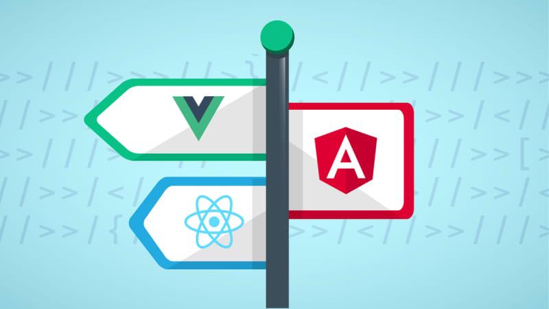 Angular vs React vs Vue - Quickstart and Comparison