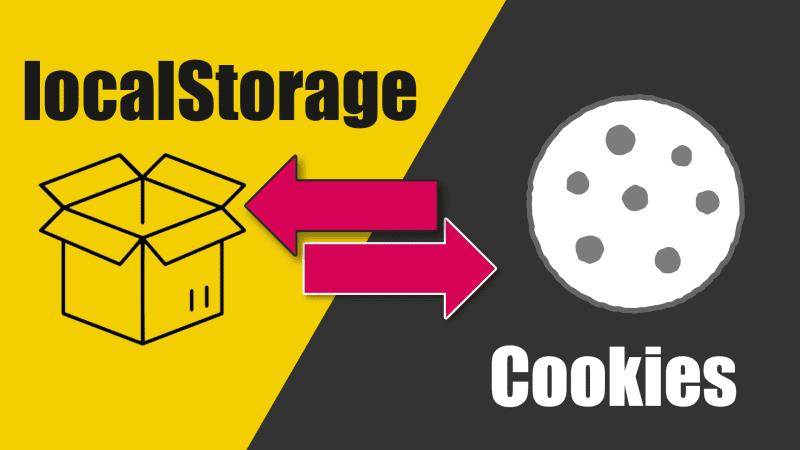 XSS - localStorage vs Cookies