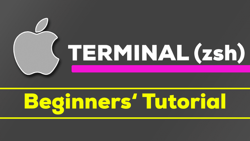 The macOS Terminal (zsh) - Getting Started