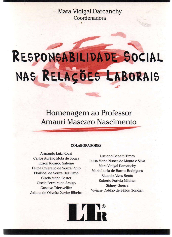 Responsabilidade Social nas Relações Laborais