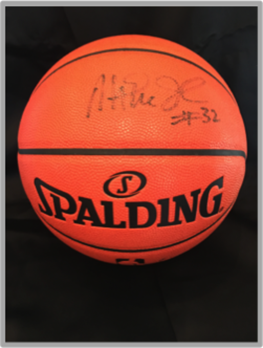 reputable site 168fe ddcb9 Auction Page   Magic Johnson Autographed Basketball