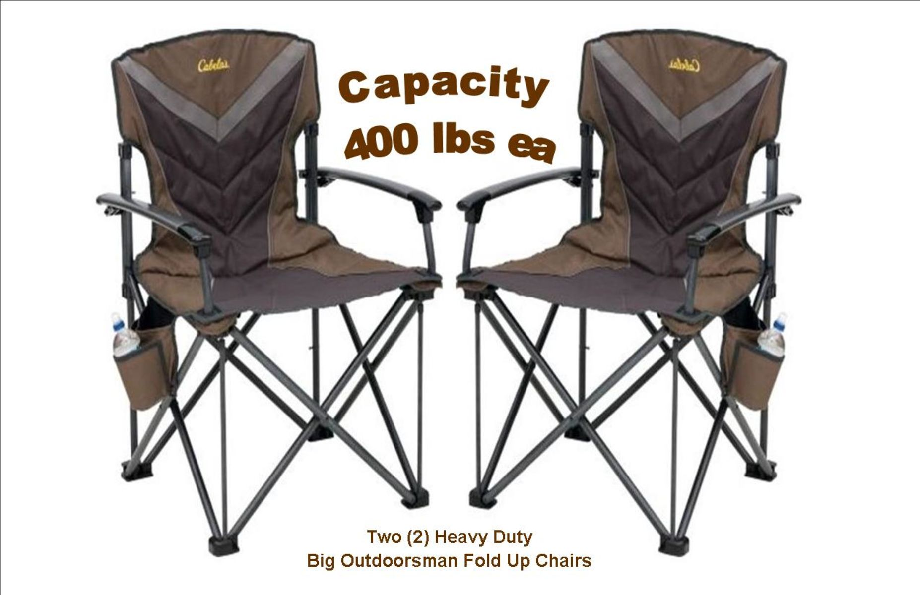 Incredible Auction Page Two 2 Cabelas Big Outdoorsman Heavy Duty Ibusinesslaw Wood Chair Design Ideas Ibusinesslaworg