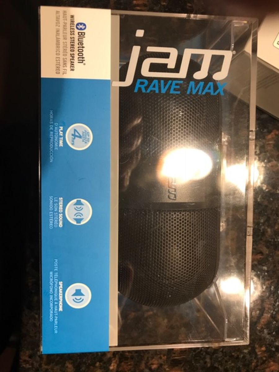 Auction Page | Jam Rave Max Wireless Stereo Speaker
