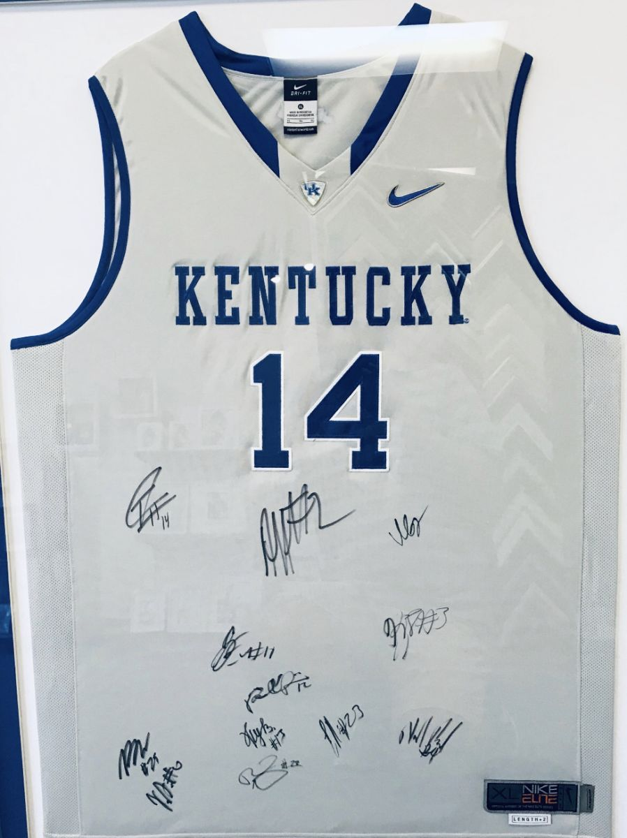 pretty nice 23101 3b9c2 Auction Page | Kentucky Wildcats Team Signed Jersey