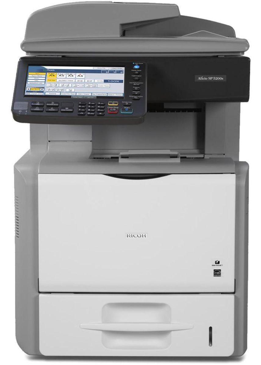 Auction Page   Ricoh Aficio Printer