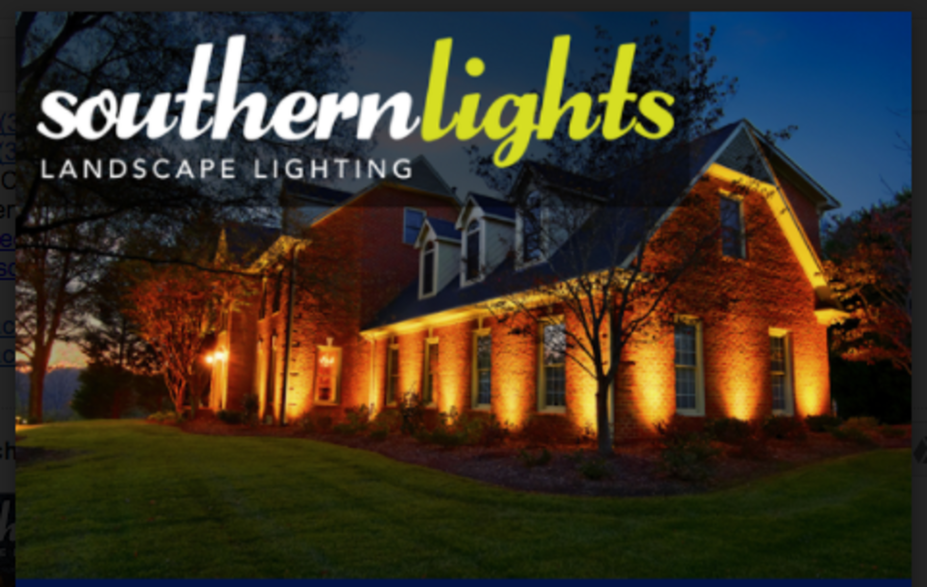 Cool Auction Page Southern Lights Of Nc Eight Fixture Outdoor Lighting Wiring Digital Resources Funapmognl