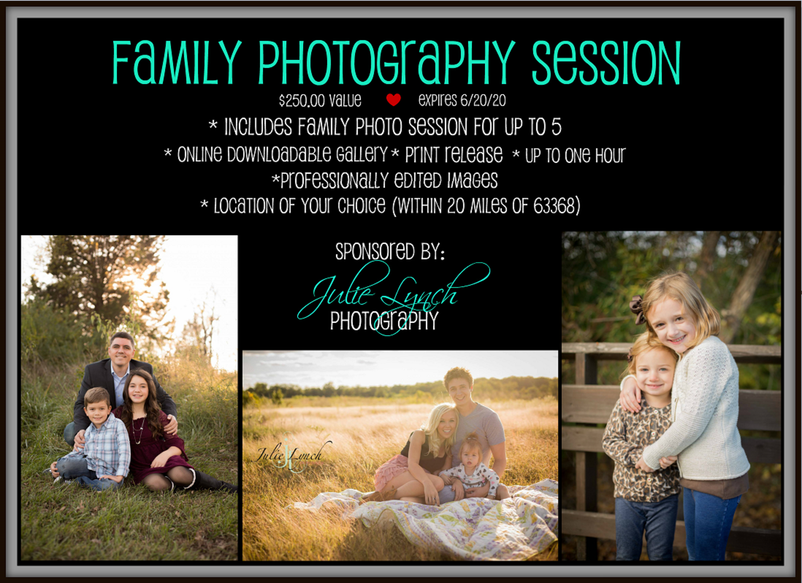 Auction Page | Julie Lynch Photography