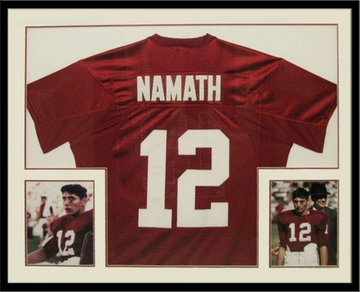 outlet store fc639 13ed9 Auction Page | Autographed Joe Namath Alabama Jersey