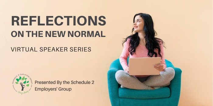 Reflections On The New Normal Speaker Series