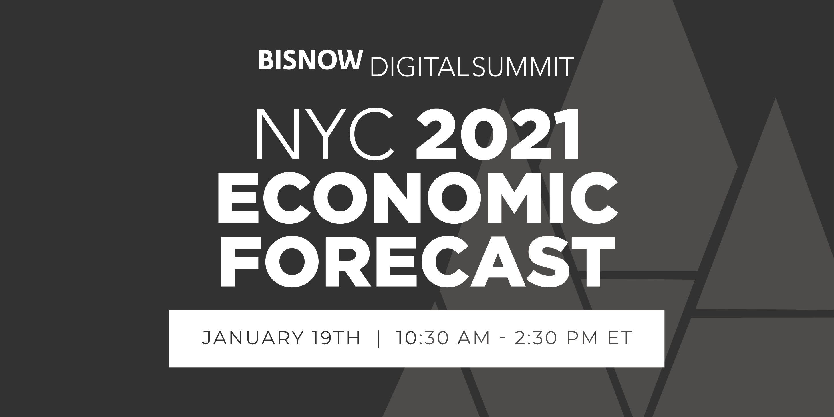 NYC 2021 Economic Forecast