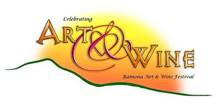 2021 Ramona Art & Wine Festival event logo