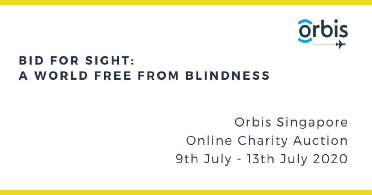 Event Page A World Free From Blindness