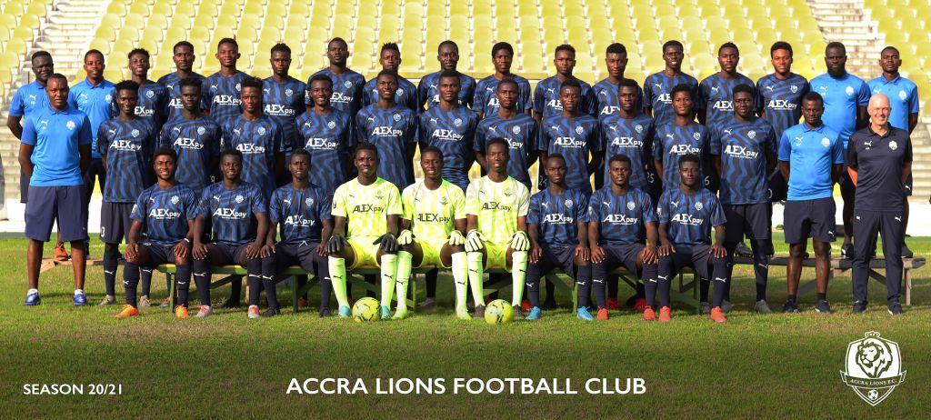 ACCRA LIONS FOOTBALL CLUB – Team