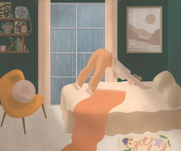 Photo of Yoga Illustration and Animation