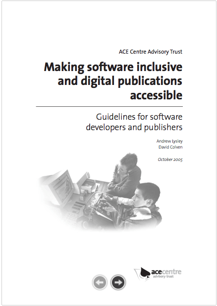 An thumbnail for the post: Making Software Inclusive