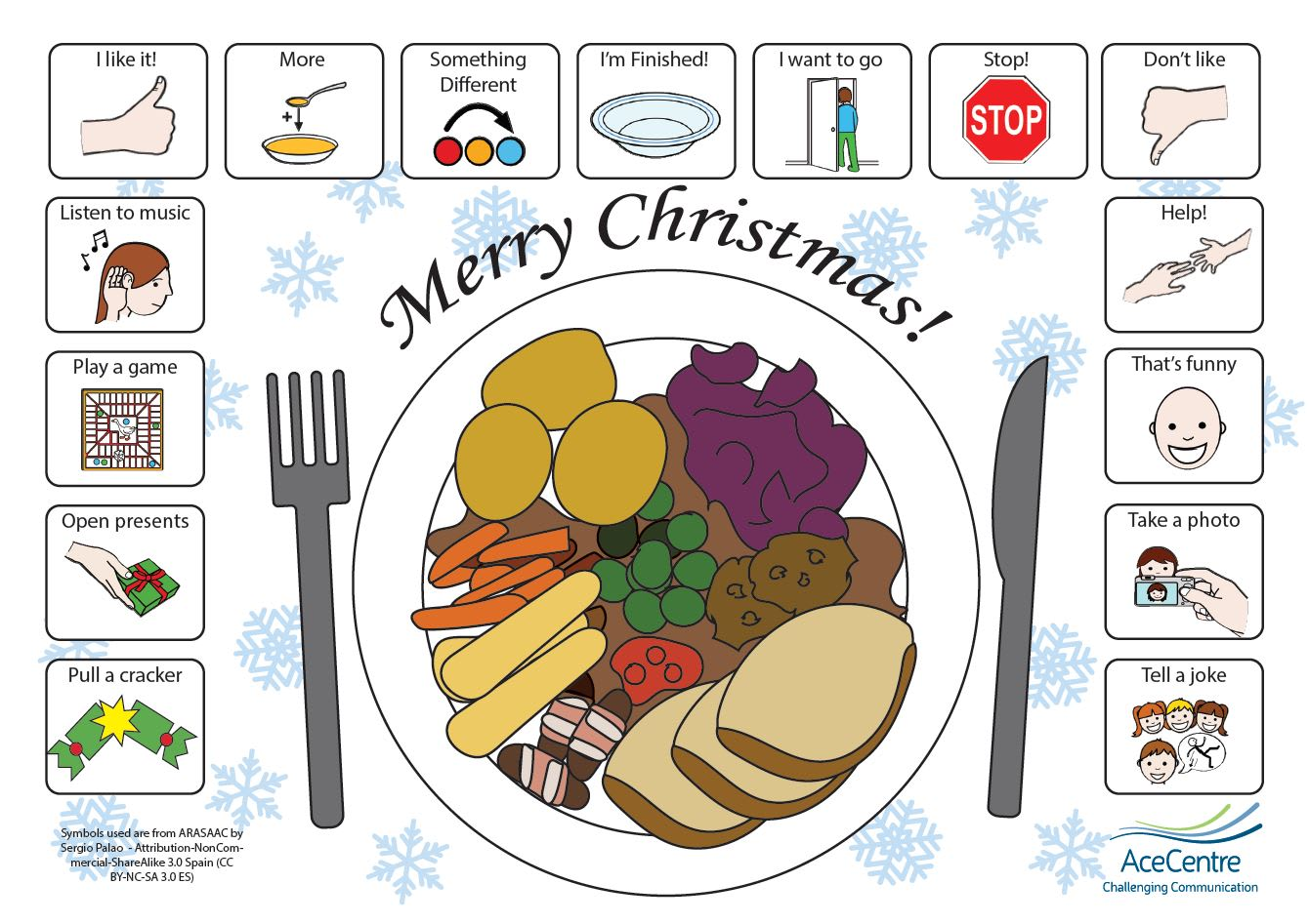 An thumbnail for the post: Christmas Place Mat