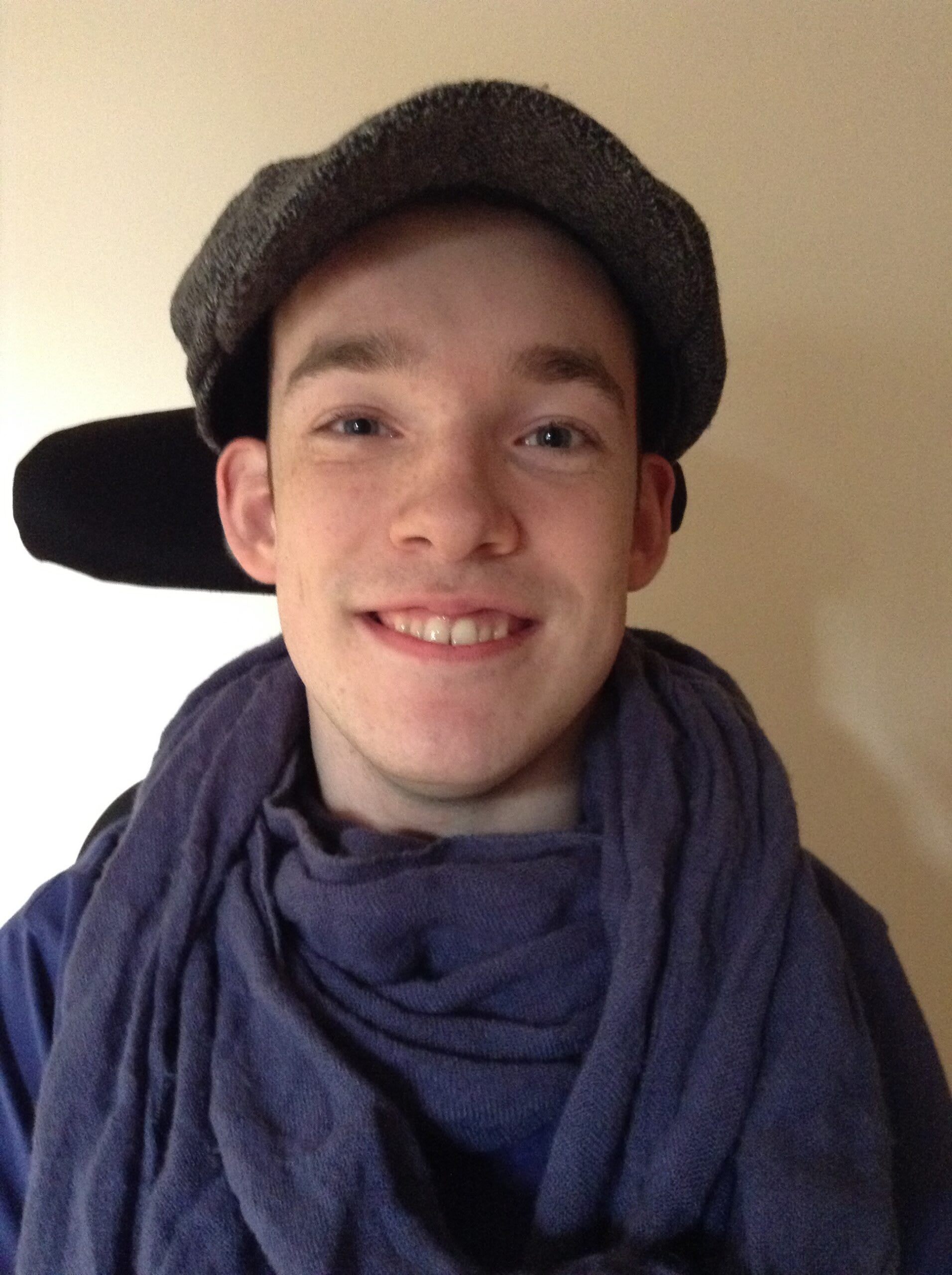 An thumbnail for the post: Read Aidan's story