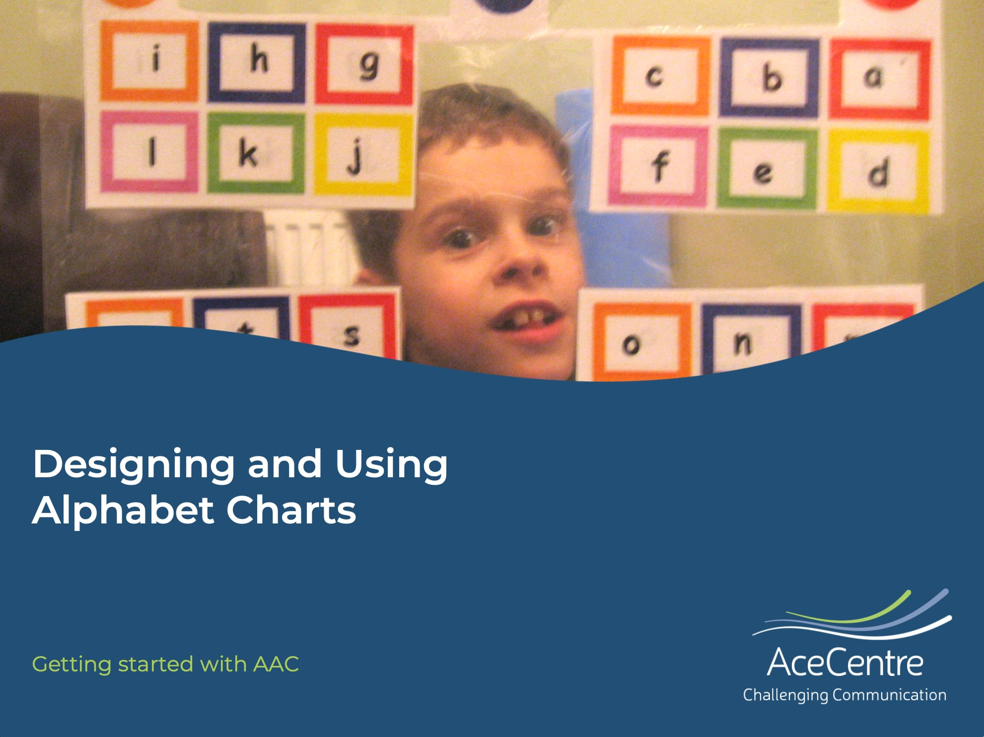 An thumbnail for the post: Designing and using alphabet charts