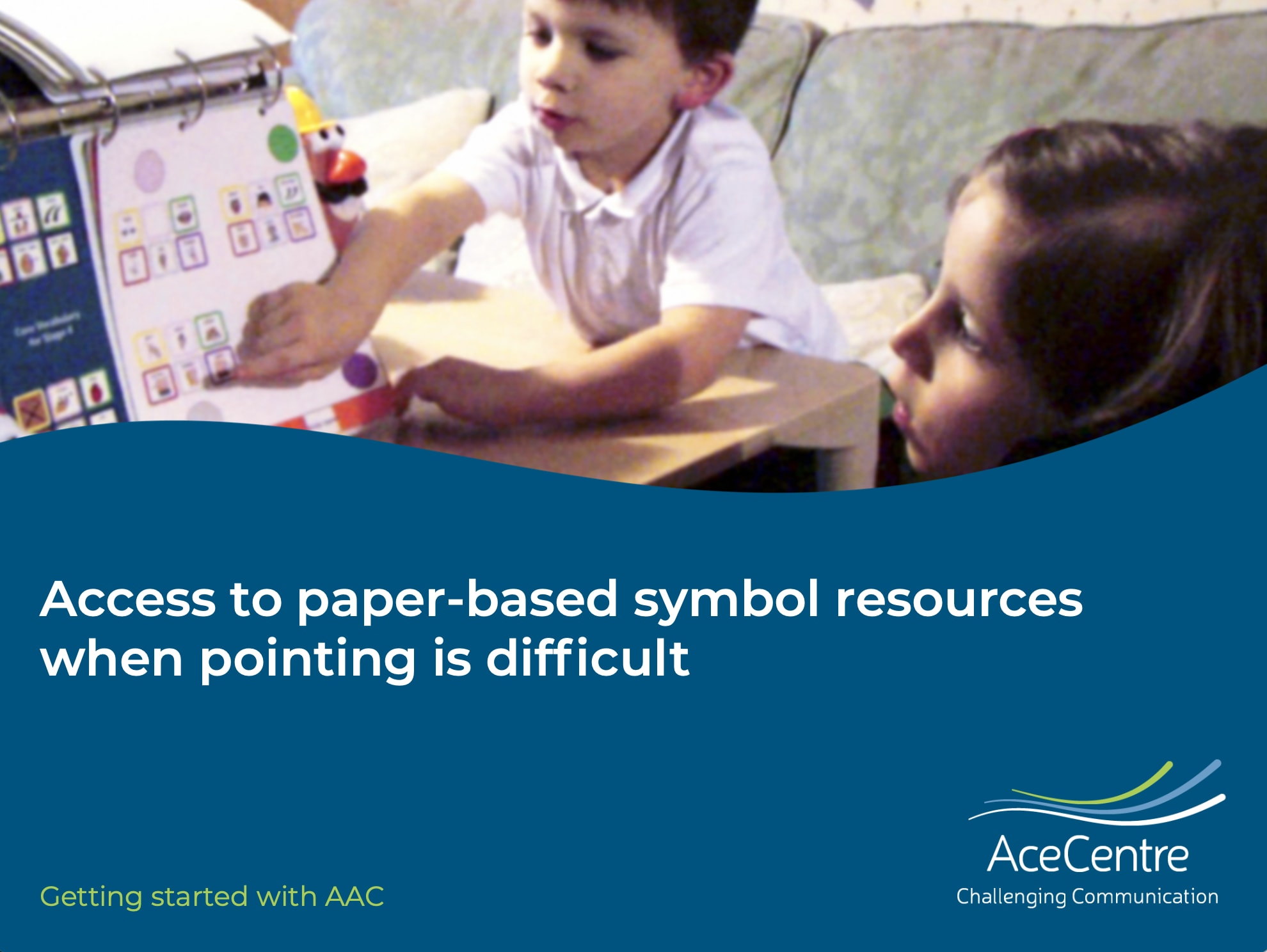 An thumbnail for the post: Access to low-tech symbol based resources when pointing is difficult