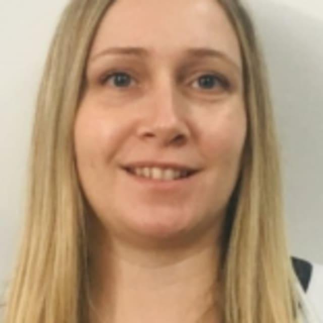 Head shot of Katy Leckenby