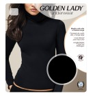 Golden Lady-High necked topp