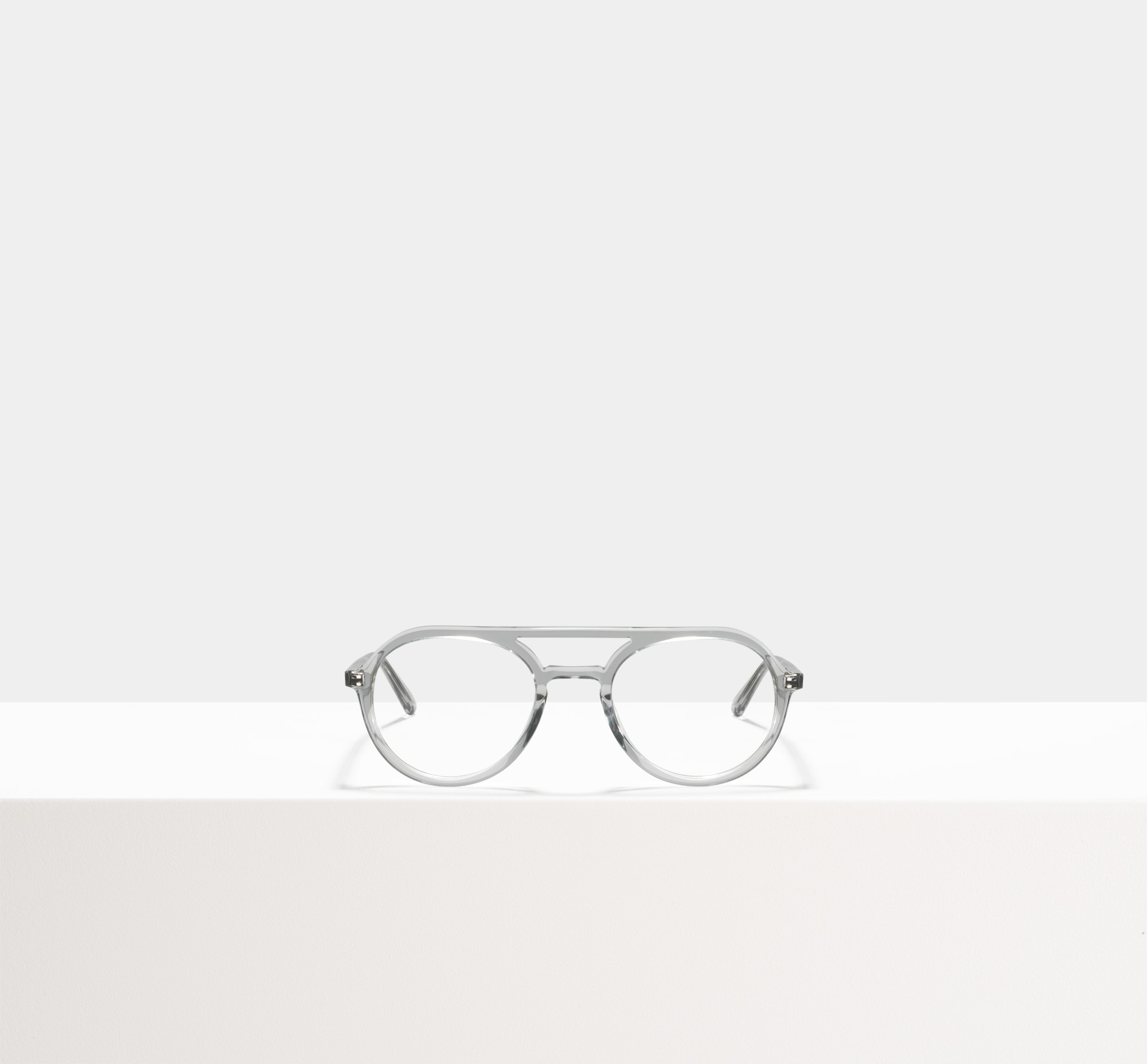 Rectangular sunglasses in Silver Ace & Tate