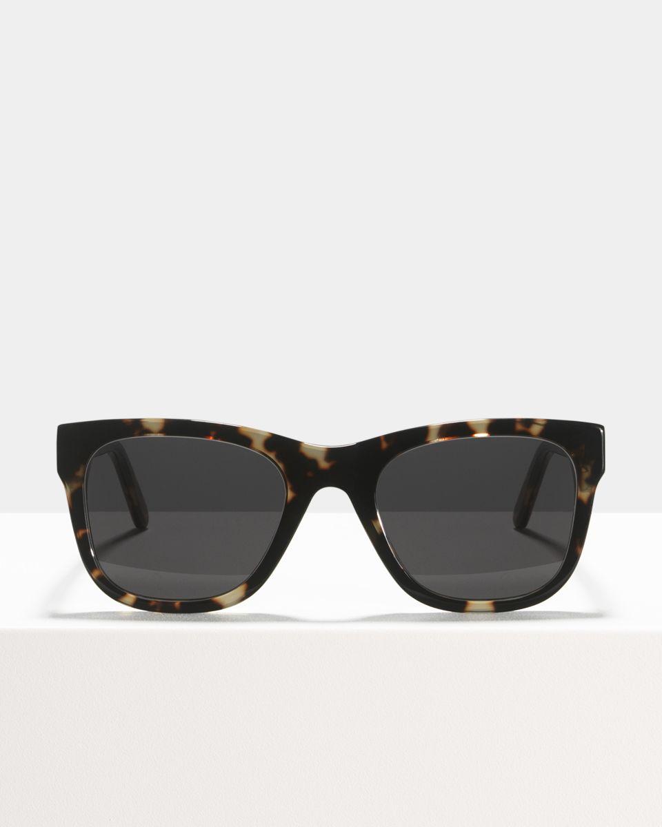 Rectangular sunglasses in Black Ace & Tate l63Sb1
