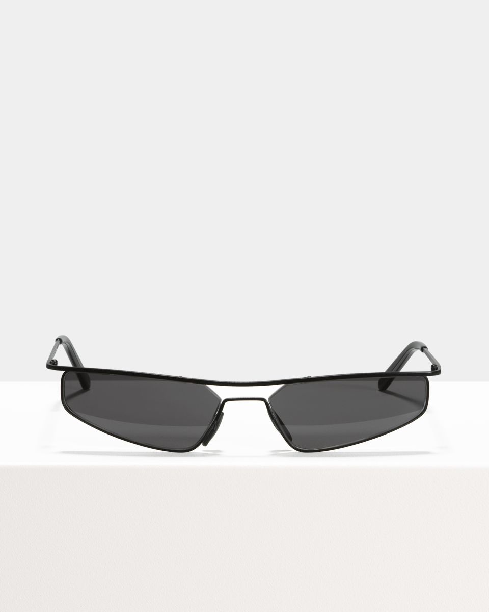 Rectangular sunglasses in Black Ace & Tate