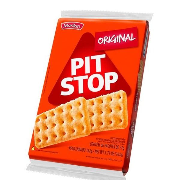 Biscoito Pit Stop Original Marilan 162g