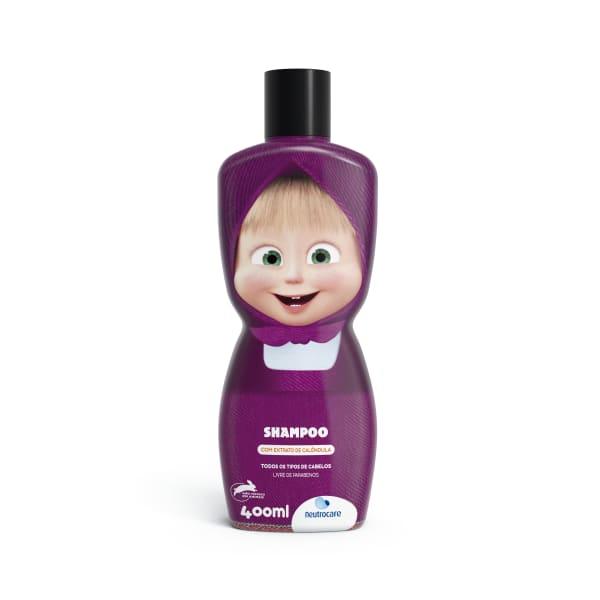 Shampoo Infantil Neutrocare Masha e o Urso 400 ML