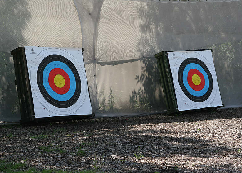 Our Archery Range in Birmingham