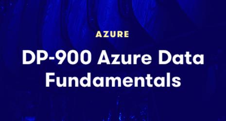 DP-900 Azure Data Fundamentals